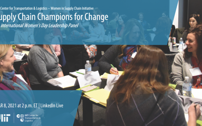 Supply Chain Champions for Change: International Women's Day Leadership panel